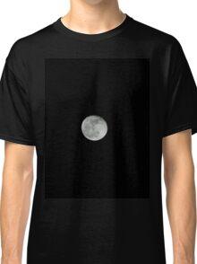 moon on black background  Classic T-Shirt
