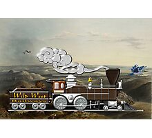 Wild West Railways Steam Locomotive in Missouri Photographic Print