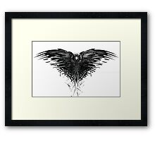 The crow of the third eye Framed Print