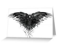 The crow of the third eye Greeting Card
