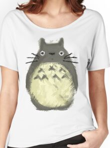 Totoro Painting  Women's Relaxed Fit T-Shirt