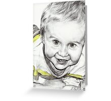 Jace Greeting Card