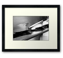 In the Marines Framed Print