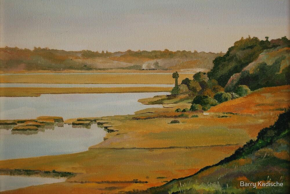 """Back Bay Hillside"" by Barry Kadische"