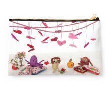 A Miniature Critter Valentine Studio Pouch