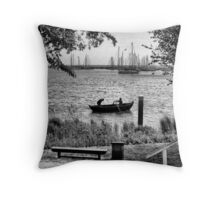Row, row, row, your Boat Throw Pillow