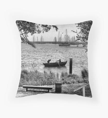 Row, row, row, your Boat Throw Pillow
