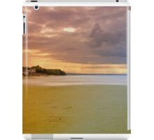 Cloud Break Over Osbourne Bay  iPad Case/Skin