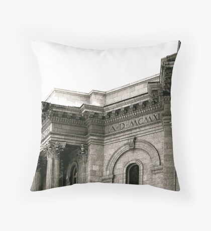 SECOND PRESS Throw Pillow