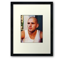 Tony Framed Print