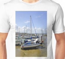 Boats in Ryde Harbour  Unisex T-Shirt