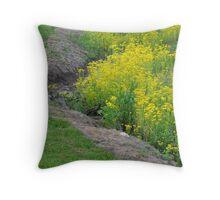 Little Wildflower Creek Throw Pillow