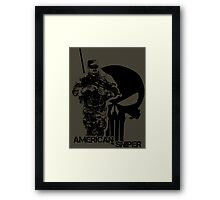 American Sniper - Chris Kyle Framed Print