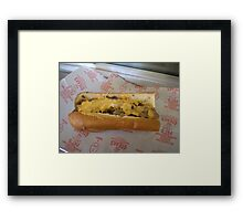 Cheese Wit Framed Print