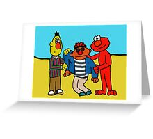 Weekend at Ernie's Greeting Card