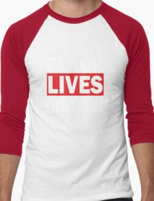Black Lives Matter Men's Baseball ¾ T-Shirt