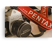 Pentax Strap Canvas Print
