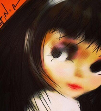 Doll Face Sticker