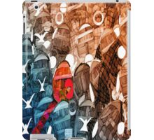 Red Boat Marooned iPad Case/Skin
