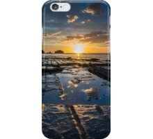 Sun Rise at Tessellated Pavements iPhone Case/Skin