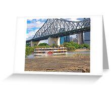 Cruising Brisbane Greeting Card