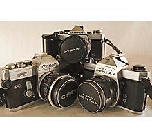 Trio of Film Love Photographic Print