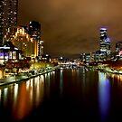 Southbank view from Princess Bridge by RichardIsik