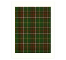 00114 Newfoundland District Tartan  Art Print