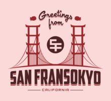 Greetings from SF Kids Tee