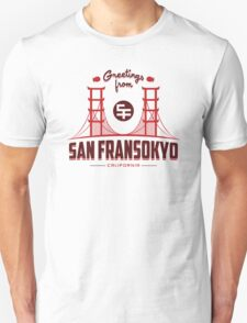 Greetings from SF Unisex T-Shirt
