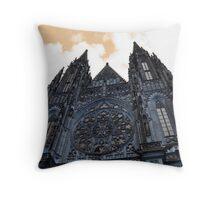 Prague Church Throw Pillow