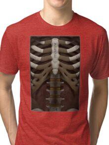 Anatomical Cutaway Tri-blend T-Shirt