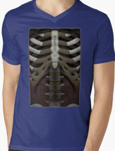 Anatomical Cutaway Mens V-Neck T-Shirt