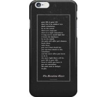 The Laughing Heart II iPhone Case/Skin