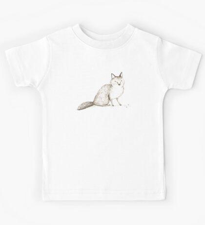 Swift Fox Sketch Kids Tee