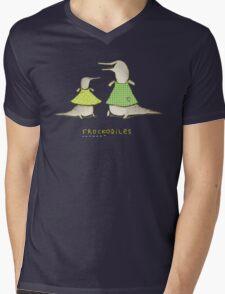 Frockodiles Mens V-Neck T-Shirt