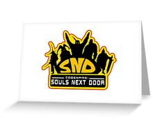 Codename: Souls Next Door Greeting Card