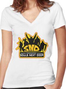 Codename: Souls Next Door Women's Fitted V-Neck T-Shirt