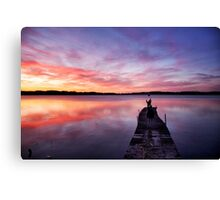 Stunning skies Canvas Print