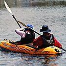 Boating by saseoche