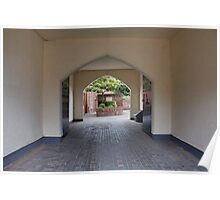 Through the Arches Poster