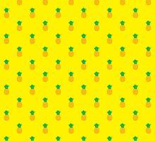 Pineapple Pattern by monsterplanet