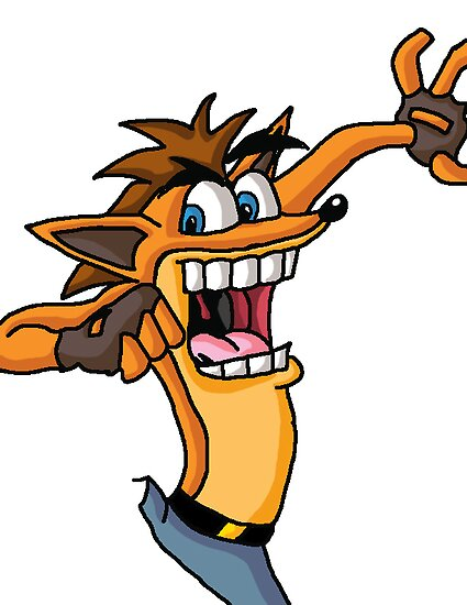 Crash Bandicoot by WtPP