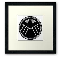 S.H.I.E.L.D logo Framed Print