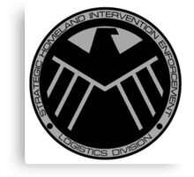 S.H.I.E.L.D logo Canvas Print