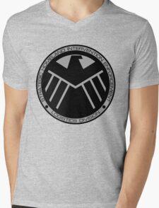 S.H.I.E.L.D logo Mens V-Neck T-Shirt