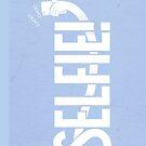 Selfie - Light blue by kdigraphics