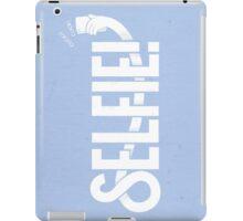 Selfie - Light blue iPad Case/Skin