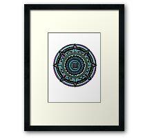 Azteca Framed Print