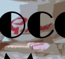 Mocca Me Sticker